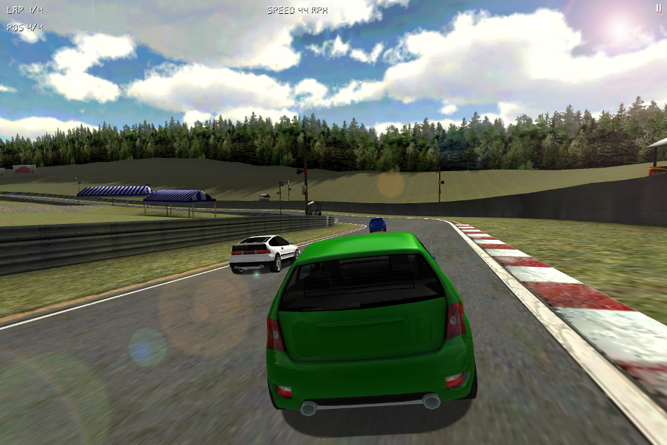 Screenshot ILLEGAL SPEED RACING