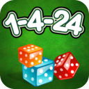 1-4-24 - Midnight Dice Game Lite mobile app icon